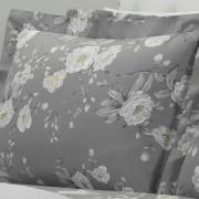 Jogo de Cama Queen Percal 180 fios - Mara Cinza - Dui Design