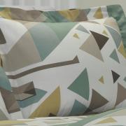 Jogo de Cama King 150 fios - Matheo Verde - Dui Design