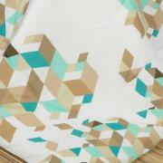Jogo de Cama Casal 150 fios - Maximo Azul - Dui Design