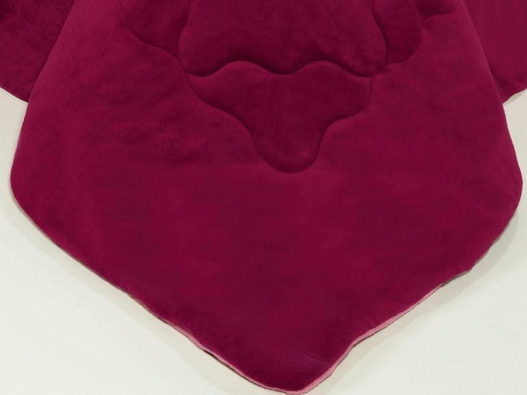 Edredom Solteiro Plush - Maxy Cereja e Rosa - Dui Design