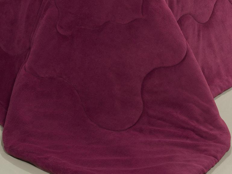 Edredom Casal Plush  - Maxy Cereja e Rosa - Dui Design