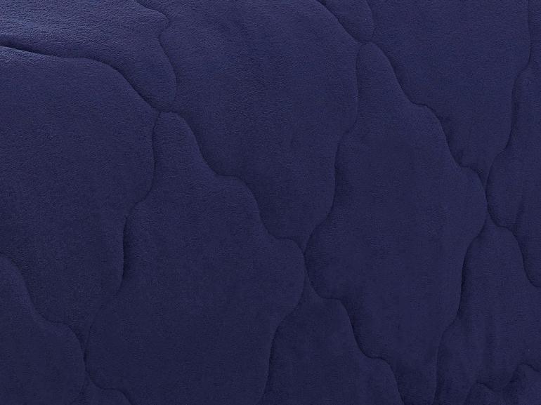 Edredom Queen Plush  - Maxy Marinho e Azul Stone - Dui Design