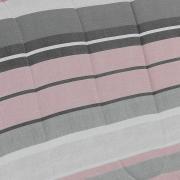Jogo de Cama Queen Percal 180 fios - Menfis Cinza - Dui Design