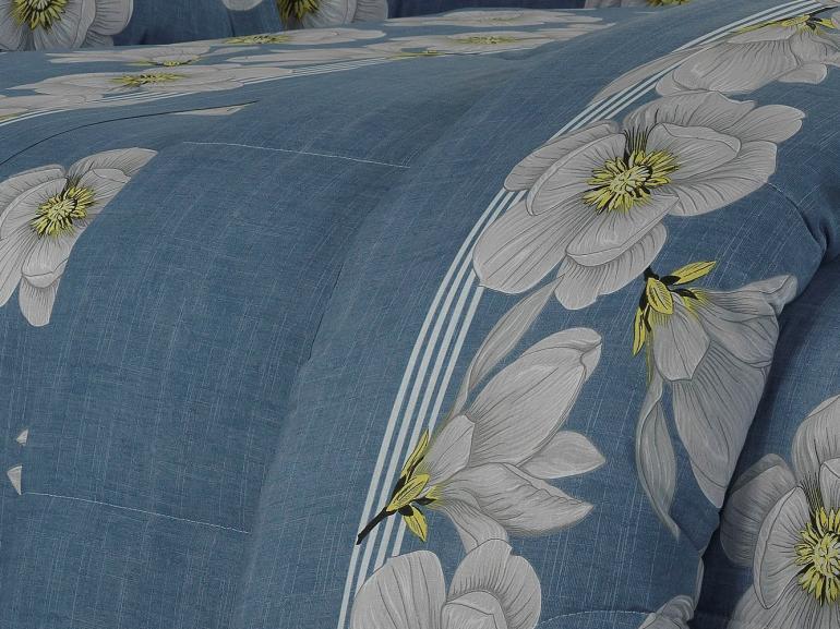Jogo de Cama Queen 150 fios - Merinda Azul - Dui Design