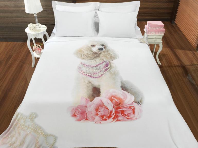 Cobertor Avulso Casal Flanelado com Estampa Digital - Milady - Dui Design