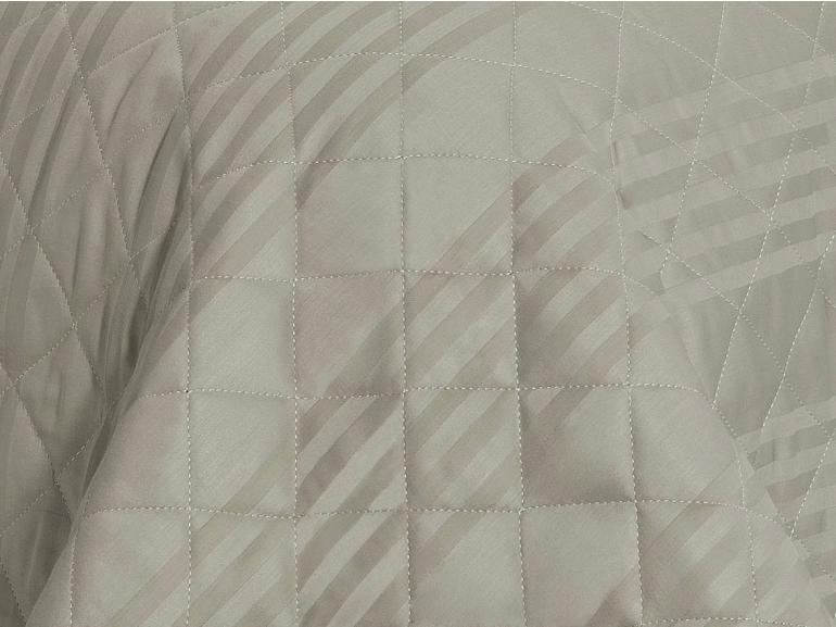 Enxoval Solteiro com Cobre-leito 5 peças Cetim 300 fios - Milano Bege - Dui Design