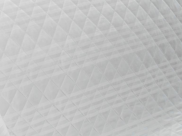 Enxoval Casal com Cobre-leito 7 peças Cetim 300 fios - Milano Branco - Dui Design