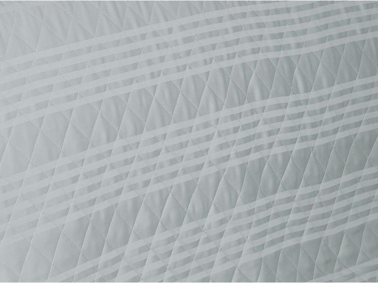 Enxoval Casal com Cobre-leito 7 peças Cetim 300 fios - Milano Cinza - Dui Design