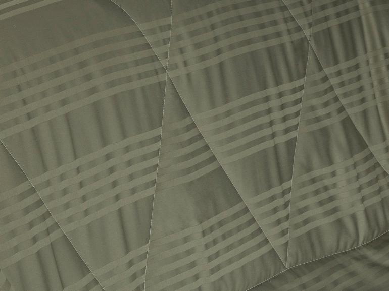 Enxoval Casal com Edredom 5 peças Cetim 300 fios - Milano Fendi - Dui Design