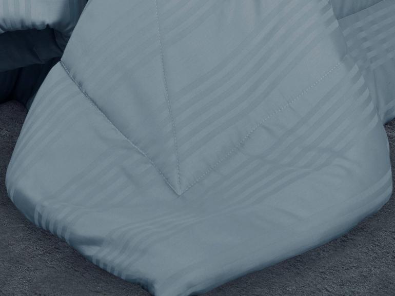 Jogo de Cama Queen Cetim 300 fios - Milano Jeans - Dui Design