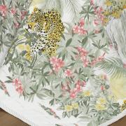 Enxoval Casal com Cobre-leito 7 peças Percal 180 fios - Miura Verde - Dui Design