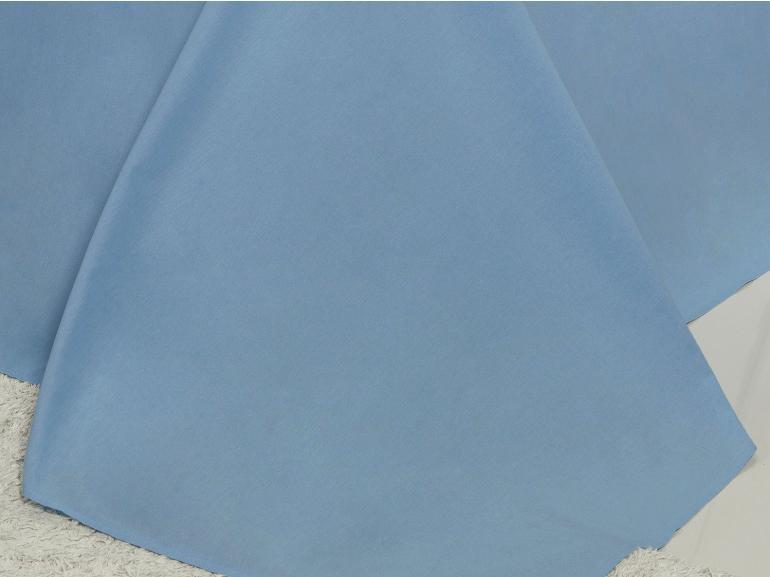 Jogo de Cama King 150 fios 100% Algodão - Mix Azul - Dui Design