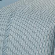 Kit: 1 Cobre-leito King + 2 Porta-travesseiros 150 fios - Mix Celeste - Dui Design