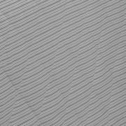 Kit: 1 Cobre-leito King + 2 Porta-travesseiros 150 fios - Listras Mix Grafite - Dui Design
