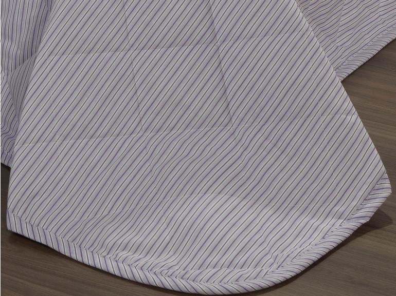 Kit: 1 Cobre-leito King + 2 Porta-travesseiros 150 fios - Mix Orquídea - Dui Design