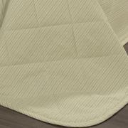 Kit: 1 Cobre-leito King + 2 Porta-travesseiros 150 fios - Mix Pérola - Dui Design