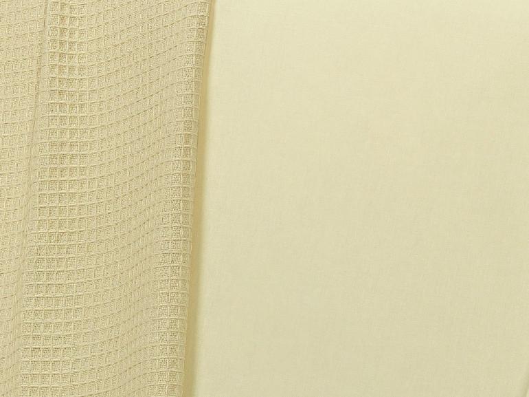 Jogo de Cama Solteiro 150 fios 100% Algodão - Mix Marfim - Dui Design