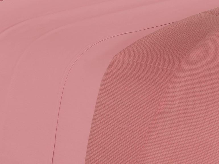 Jogo de Cama King 150 fios 100% Algodão - Mix Rosa - Dui Design