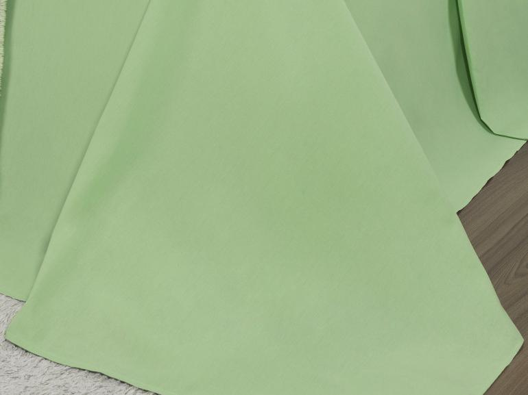Jogo de Cama Solteiro 150 fios 100% Algodão - Mix Verde - Dui Design