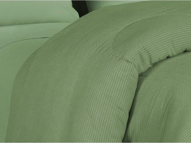 Edredom Queen 150 fios - Mix Verde - Dui Design