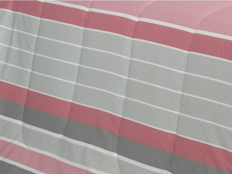 Jogo de Cama Queen Percal 200 fios - Mondeo Cinza - Dui Design