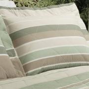 Kit: 1 Cobre-leito Solteiro + 1 Porta-travesseiro Percal 200 fios - Mondeo Confrei - Dui Design