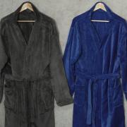 Roupão Kimono Microfibra (G) - Monza - Dui Design