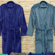 Roupão Kimono Microfibra (GG) - Monza - Dui Design