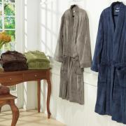 Roupão Kimono Microfibra (G) - Moscou - Dui Design