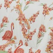 Jogo de Cama Queen 150 fios - Nadia Flamingo - Dui Design