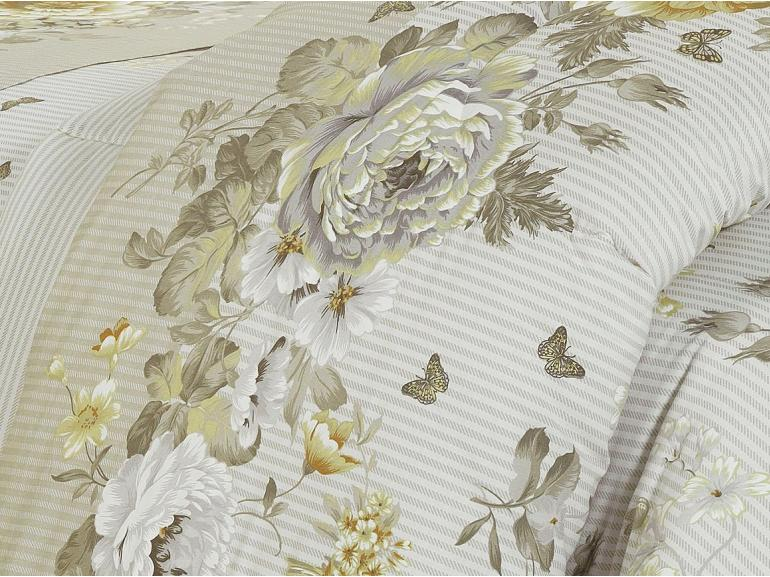 Jogo de Cama Queen Percal 200 fios - Nadir Bege - Dui Design