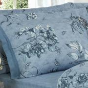 Jogo de Cama King 150 fios - Nancy Jeans - Dui Design