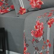 Jogo de Cama Queen 150 fios - Naya Cinza - Dui Design