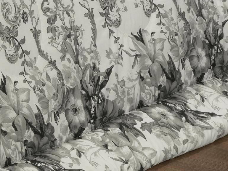 Edredom King Percal 200 fios - Niara Cinza - Dui Design
