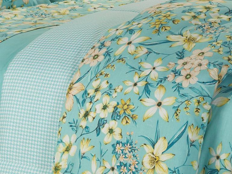 Jogo de Cama Queen 150 fios - Nicoleta Azul - Dui Design