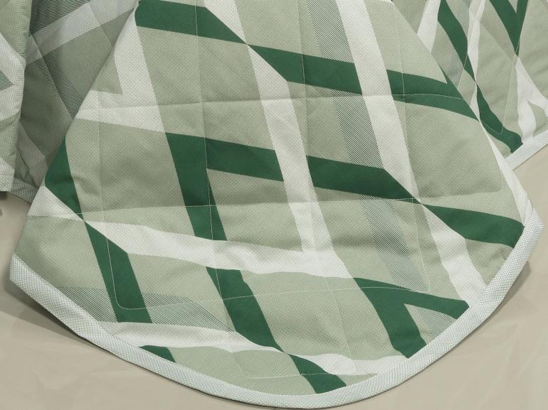 Kit: 1 Cobre-leito Casal + 2 Porta-travesseiros 150 fios - Nimbos Confrei - Dui Design