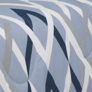 Jogo de Cama Casal 150 fios - Nimbos Indigo - Dui Design