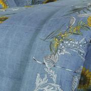 Jogo de Cama Casal Percal 180 fios - Nina Azul - Dui Design