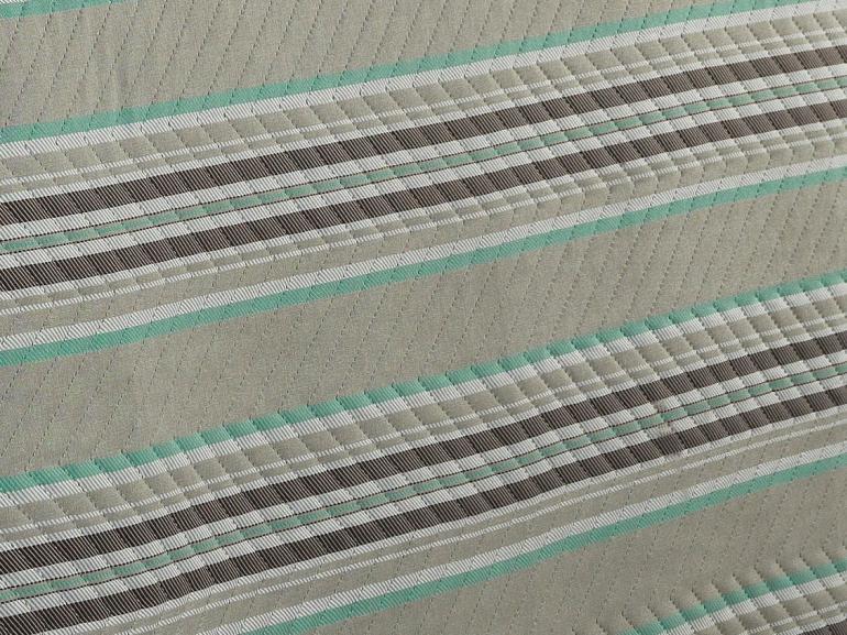 Kit: 1 Cobre-leito Casal Bouti de Microfibra Ultrasonic Estampada + 2 Porta-travesseiros - Noble Stone - Dui Design