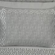 Jogo de Cama Queen Cetim 300 fios - Notorious Cinza - Dui Design