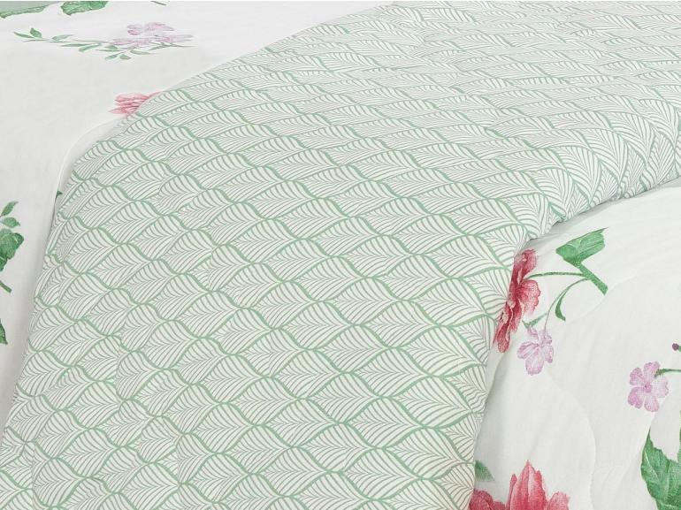 Kit: 1 Cobre-leito Queen + 2 Portas-travesseiro 150 fios - Nuria - Teka