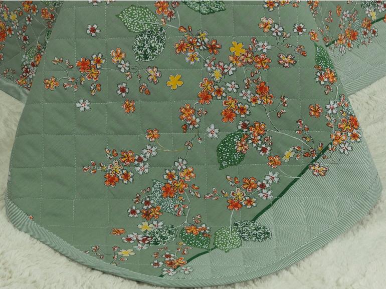 Kit: 1 Cobre-leito King + 2 Porta-travesseiros 150 fios - Okawa Confrei - Dui Design