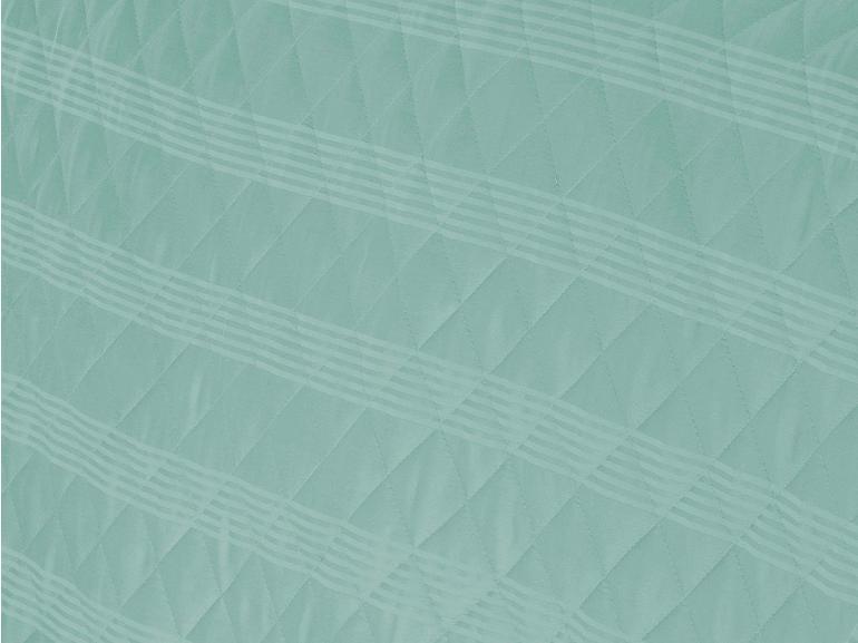 Enxoval Casal com Cobre-leito 7 peças Cetim 300 fios - Ottawa Acqua - Dui Design