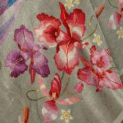 Cobertor Avulso Solteiro Flanelado com Estampa Digital 280 gramas/m² - Paloma - Dui Design