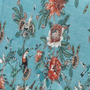 Edredom Solteiro 150 fios - Pamela Azul - Dui Design
