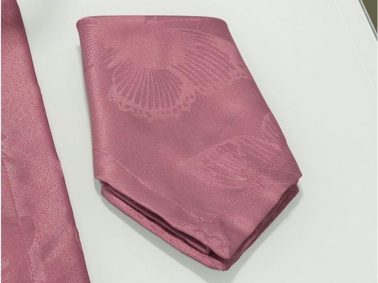 Kit: 4 Guardanapos 50x50cm - Papillon Cassis - Dui Design