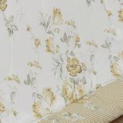 Edredom Solteiro 150 fios - Paula Taupe - Dui Design