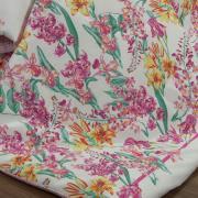 Edredom Queen Percal 180 fios - Perla Orquídea - Dui Design