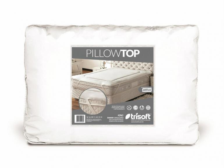 Protetor de colchão Casal - Pillow Top - Trisoft