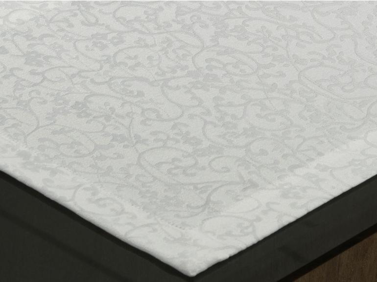 Jogo Americano 4 Lugares (4 peças) Fácil de Limpar 35x50cm - Polka Branco - Dui Design